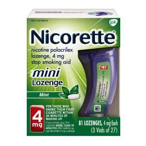 Nicotine Lozenge, 4 mg