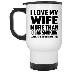 Husband Travel Mug is both personal and functional mug