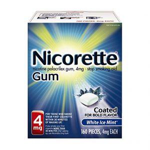 Nicotine Gum, 4 mg