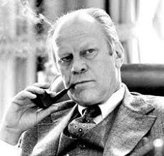 President Ford smoked
