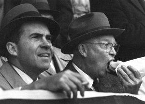 President Nixon smoked