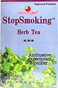 quit smoking tea